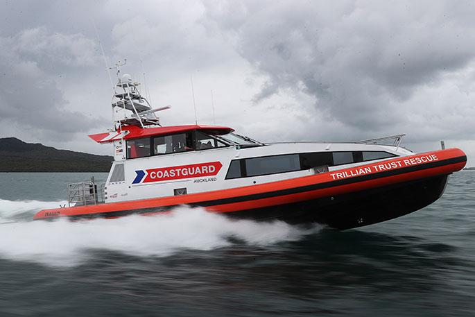 Newsie - New rescue vessel for the Hauraki Gulf - The